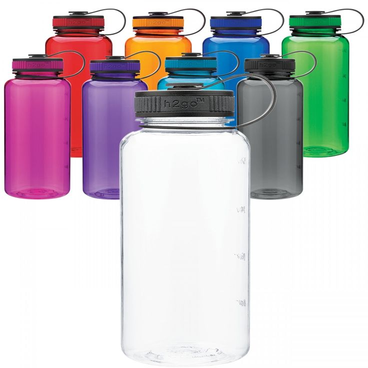 Wide Mouth Tritan Water Bottle 34 oz - Save A Cup