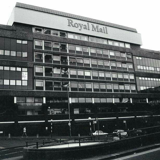 Birminghams former royal mail sorting office..now The Mailbox