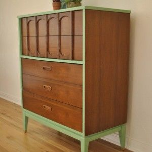 a site with great mid-century furniture refinishing inspiration