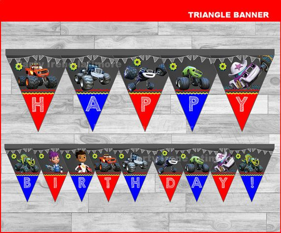 Blaze and the Monster Machines triangle di partyirenelatimore