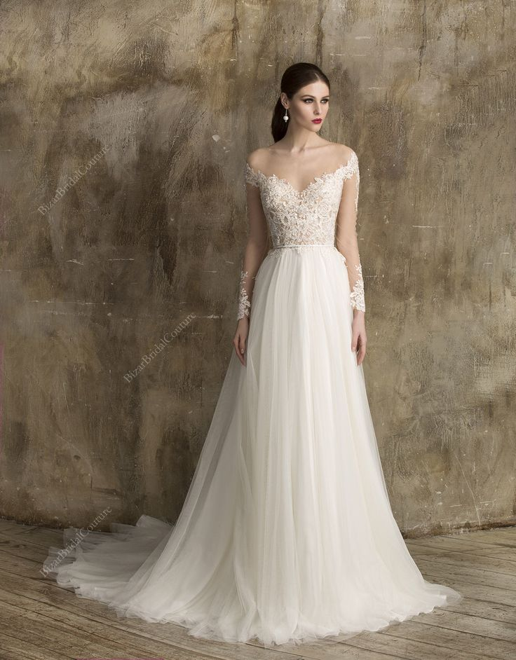 25  best ideas about Crystal wedding dresses on Pinterest | Lace ...