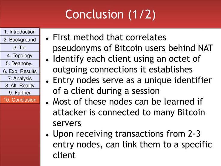bitcoin outgoing connection