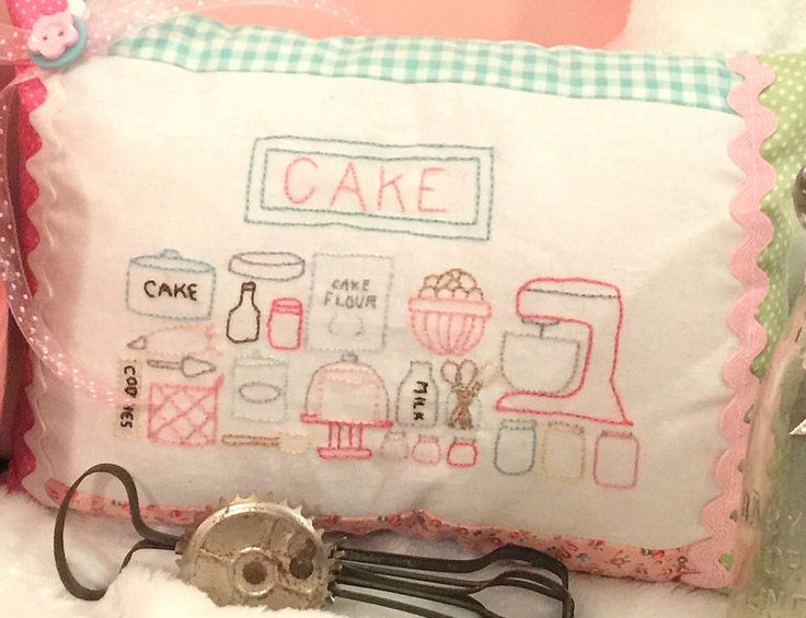 A personal favorite from my Etsy shop https://www.etsy.com/listing/489066112/cake-baking-embroidery-and-pillow
