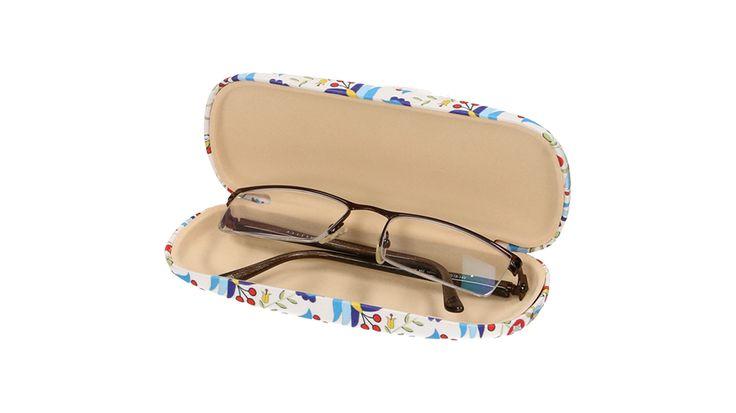 Etui na okulary kaszubskie hafty