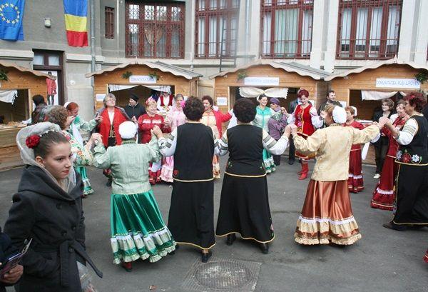 Horă multietnică / Multiethnic round dance
