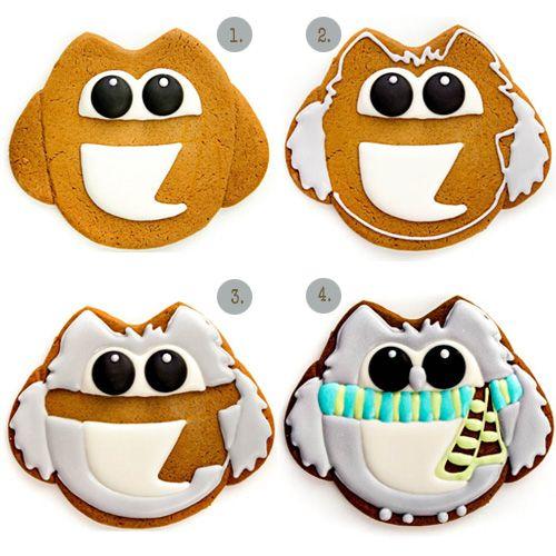My Owl Barn: Winter Owl Cookies