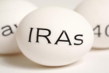 If you invest in a Traditional IRA you pay taxes when you take it out rather then when you put the money in.
