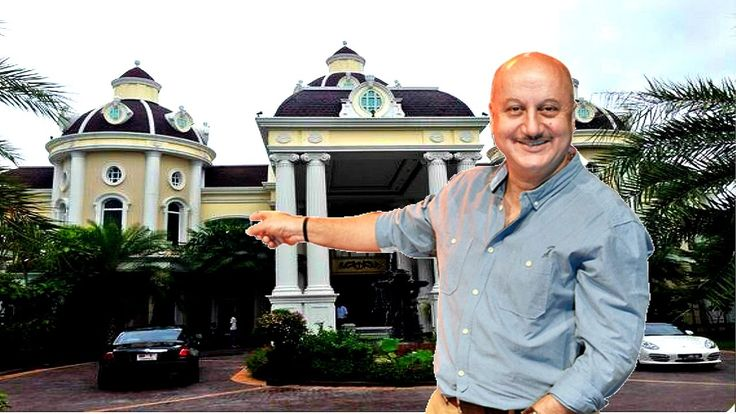 Anupam Kher House l with Family l Anupam kher Residence in Mumbai
