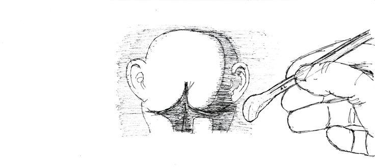 """""""usate la matita al posto della lingua""""  #larchitettononserve #book #architecture #sketch #design #ass #hand #pencil #tongue"""