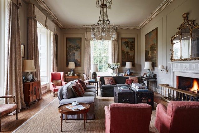 Discover the Scottish Regency mansion owned by Caroline and James Inchyra on HOUSE - design, food and travel by House & Garden.
