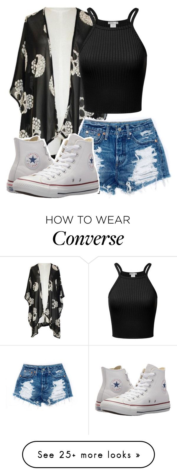 """""""Tatiana Ramones"""" by misshemmings96 on Polyvore featuring Converse"""