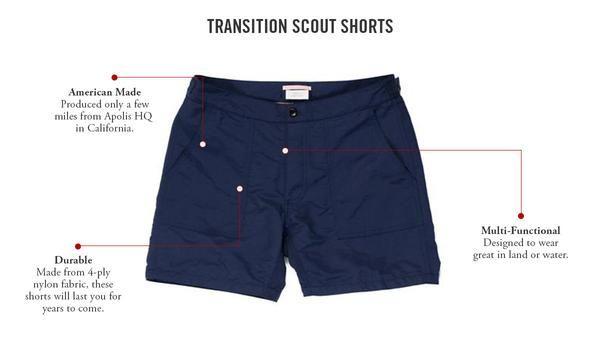 Apolis | Transition Scout Short