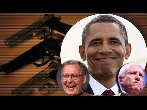 Obama's Secret Deal Could Sneak Gun Restrictions Into Trade Agreement