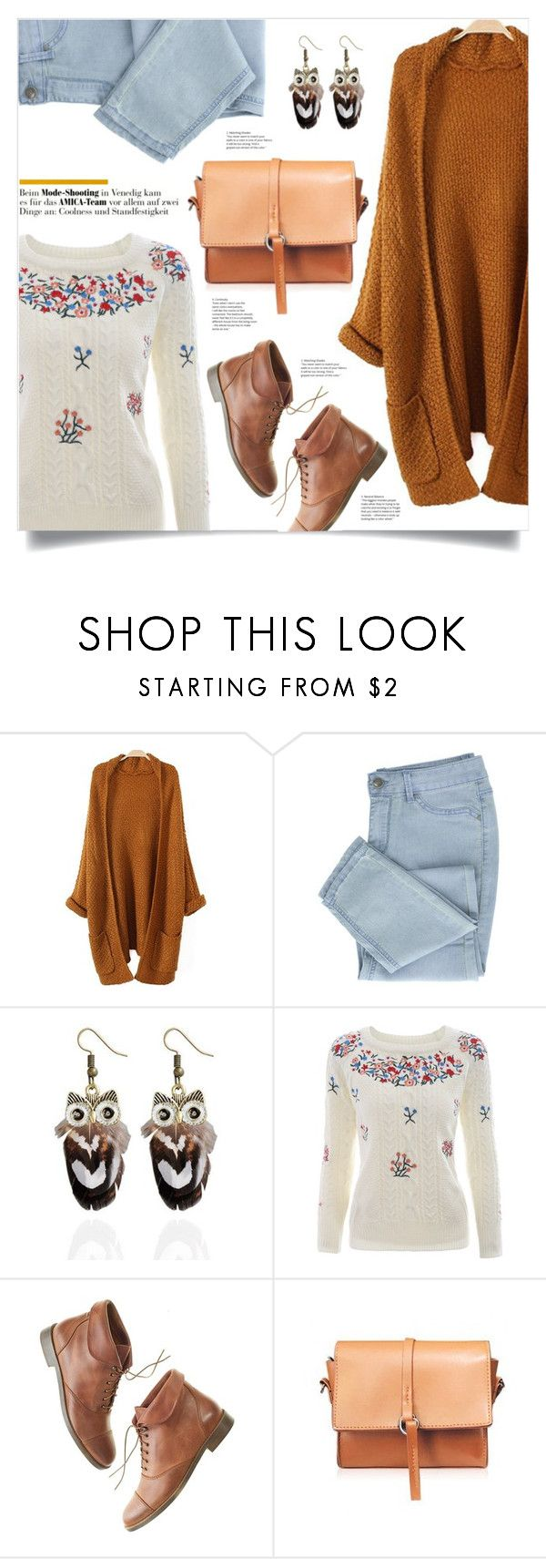 """""""Get Cozy: Chunky Knits"""" by mahafromkailash ❤ liked on Polyvore featuring Madewell"""