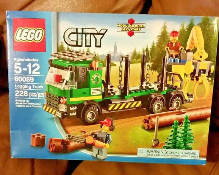 LEGO 60059 City Logging Truck Retired New Factory Sealed Box #LEGO