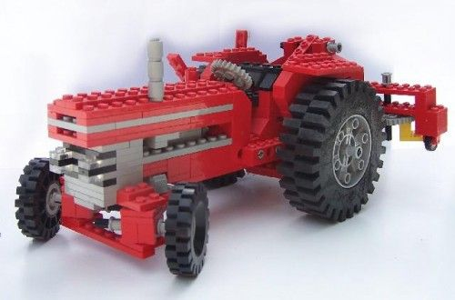 how to buils a lego tractor | which these models belong to a series called expert builder