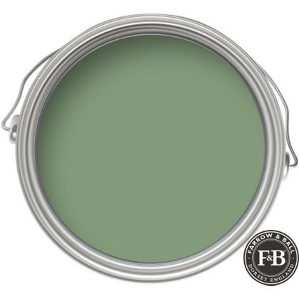 Farrow Ball Eco Breakfast Room Green Exterior Eggshell Paint 750ml Gloss Paint