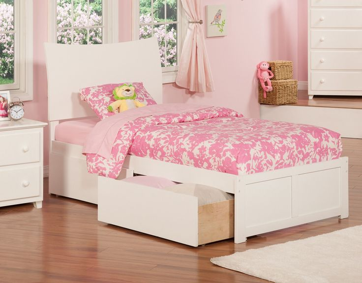 Soho Extra Long Twin Sleigh Bed With Storage