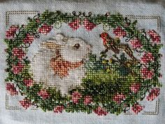 The Twilight Thread: Bunny from Just Cross Stitch magazine