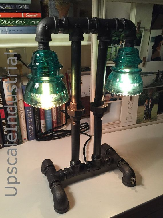 Steampunk Lamp / Pipe Lamp / Steampunk Lighting / Industrial