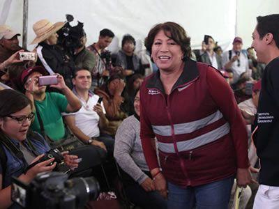 """#DESTACADAS:  Delfina Gómez llama a impedir """"imposición"""" de Alfredo del Mazo el martes 8 - Dossier Político"""