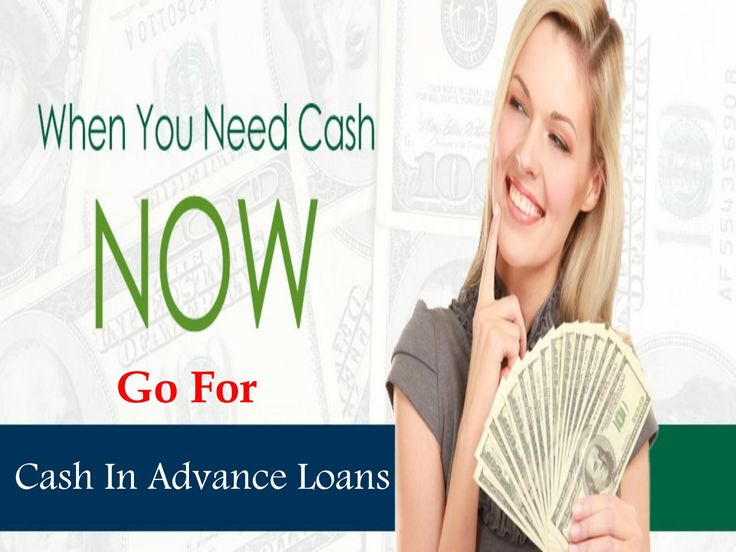 Cash In Advance Loans- Efficient Finance To Combat Unwanted Monetary Pressure In…