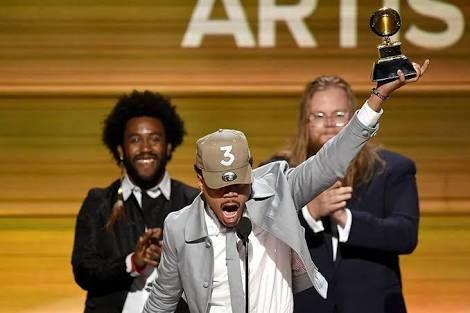 E! News  Grammy Awards 2017: Chance The Rapper Beats Drake, Kanye West For Best Rap Album - See Full List Of Winners