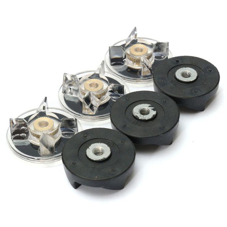 Plástico De Goma de Metal Negro Blanco 3 unids Artes de Base + 3 pcsRubber Engranaje Fit Para Bala Mágica Durable Calidad