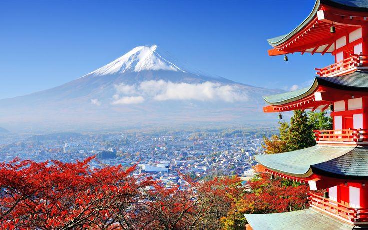 Fuji, Japan - The most beautiful mountains in the world  #fuji #mountain #travelblog