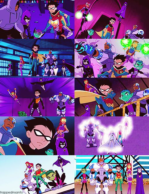 """""""We're not five heroes. We're one team."""" -Teen Titans They ruined the series with Teen Titans Go...Just sayin'..."""