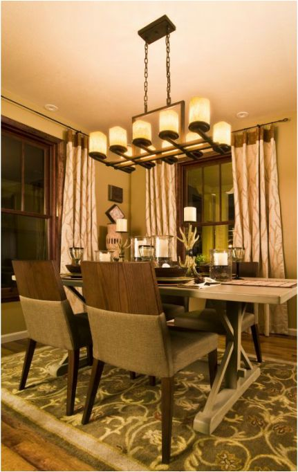 51 Best Dinning Room Lighting Images On Pinterest  Chandeliers Classy Dining Room Ceiling Lights Design Decoration