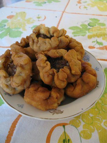Belyashi (Russian meat pies)