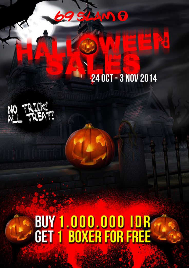 HALLOWEEN PROMOTION 2014