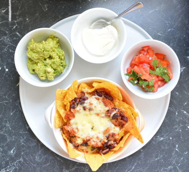 Nachos. Find how I made it at http://www.whatscookingella.com/blog/nachos