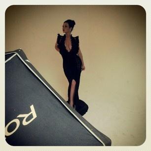 Backstage producción fotográfica para Mens Toys con Diosa Canales
