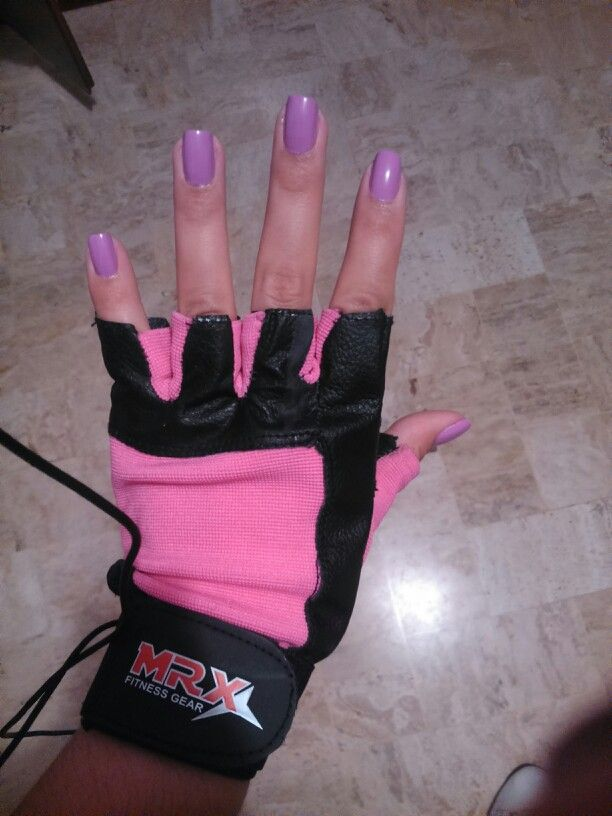 Guantillas Black & pink
