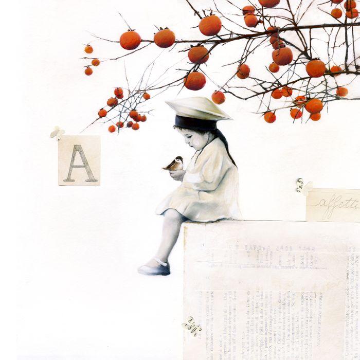 'Alfabetiere dei sentimenti II'. Giclée Art Print by Sonia MariaLuce Possentini - Arte Limited