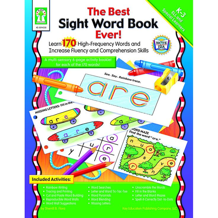 This helpful classroom resource includes reproducible word wall cards and a 6-page reproducible activity booklet for each of 170 sight words. Use the lessons to help students build strong sight word i