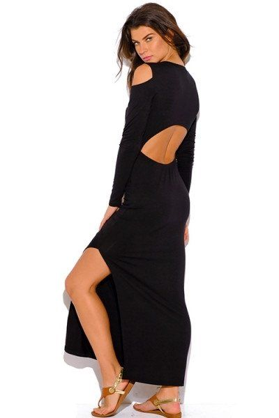 Show a little skin and look sexy in the Keyhole Maxi!
