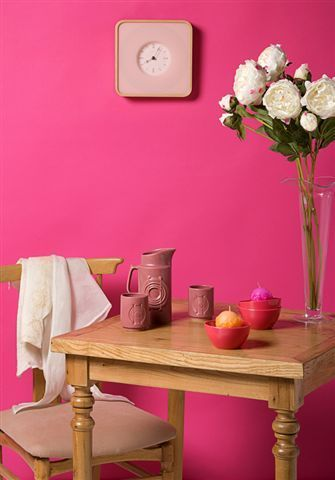 84 best Pretty In Pink images on Pinterest Bedroom boys, Bedroom - wandfarbe korall