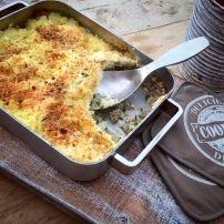 Ovenschotel Aardappel, Andijvie en Kerriegehakt