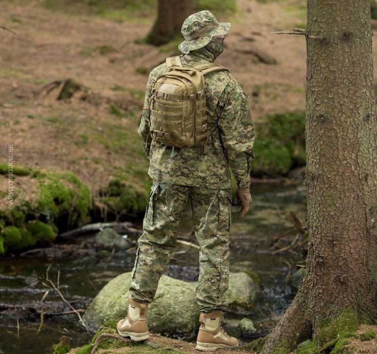 """TDU Revenger uniform in """"Socom AOR2"""" camouflage"""