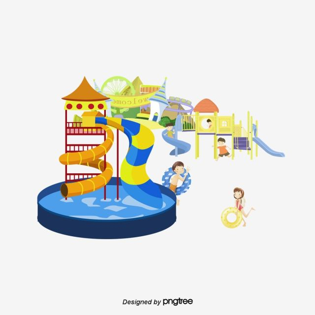 Millions Of Png Images Backgrounds And Vectors For Free Download Pngtree Vector Free Vector Water Park