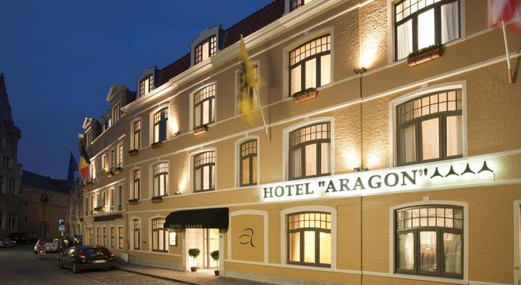 HOTEL ベルギー・ブルージュのホテル>マーケット広場から100mのブルージュ中心部に位置するホテル>ホテル アラゴン(Hotel Aragon)