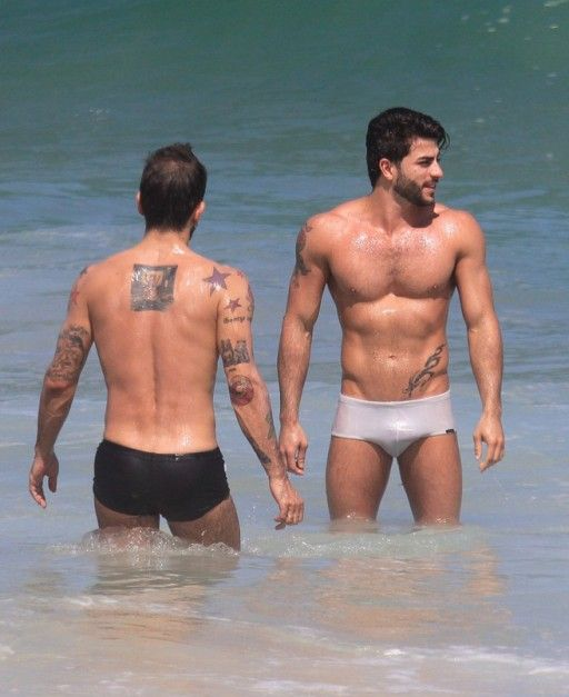 Fashion Designer Marc Jacobs Shows Off His New Brazilian