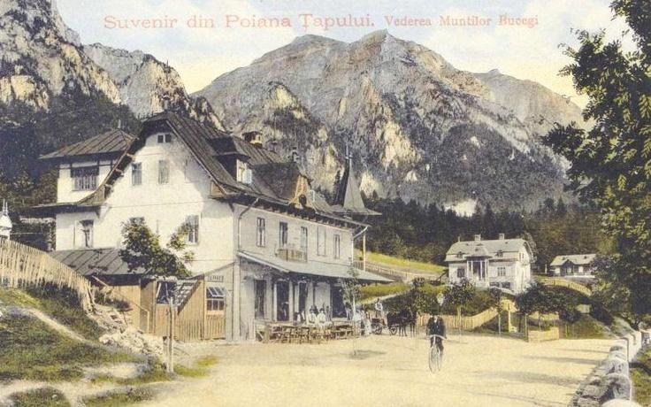 Poiana Tapului - Bucegi - 1910