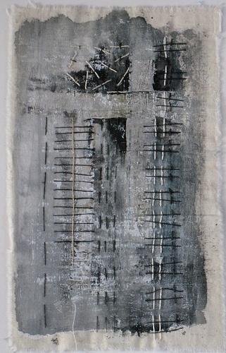 Stitching Textile by Deidra Brocké Wallace.