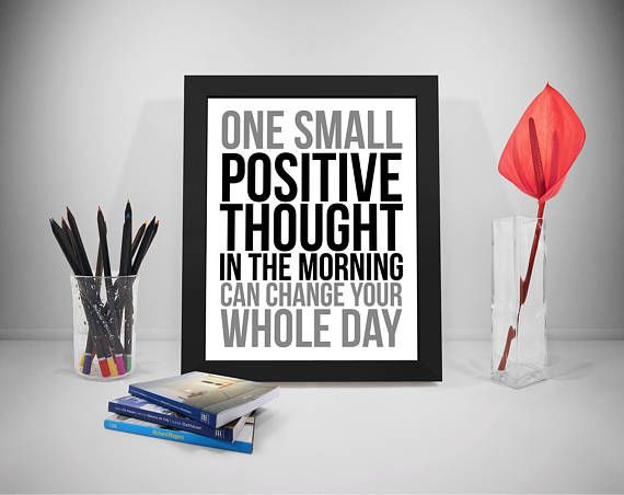 Positive Thought Printable Quotes Positive Mind Sayings