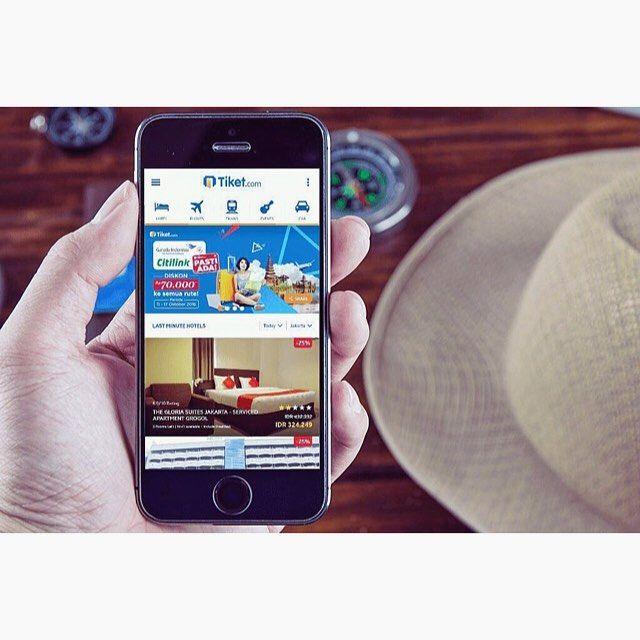 Karena bentar lagi ulang tahun gw, cari tiket murah ah.. Browsing2, eh di Tiket.com lagi ada Diskon Garuda Indonesia & Citilink sampe Rp 70.000.. Promonya cuma sampe tanggal 17 Oktober! Ayo buruan cek!! @tiketcom #TiketComPastiAda