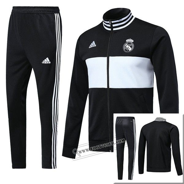 Ensemble Original Nouveau Veste Survetement Real Madrid Noir